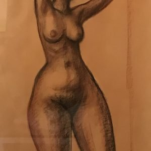 Desnudo mujer (frente)