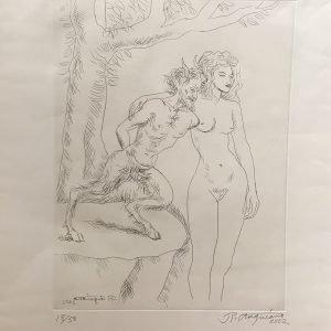 Mujer y Diablo