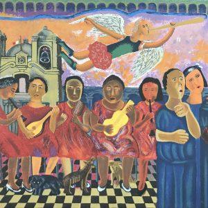 Músicos y ángeles