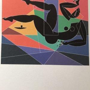 Mujer en colores