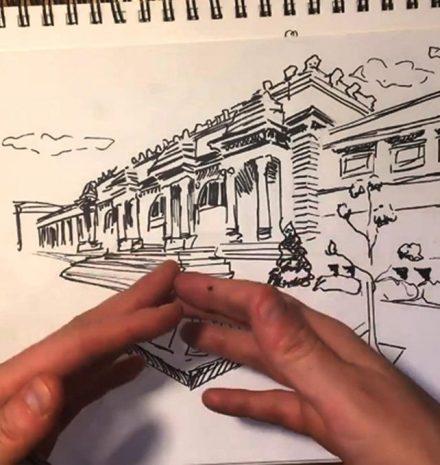 Clases de dibujo en el MET