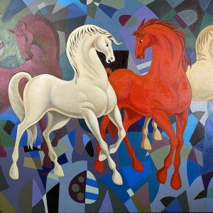 Cuatro caballos