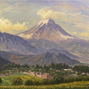 Popocatepetl desde Santo Tomás