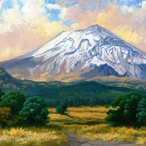 Popocatépetl desde paso de Cortés