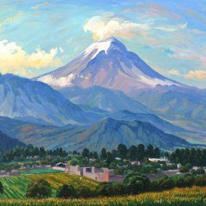 Popocatepetl desde Santo Tomas Estado de Mexico